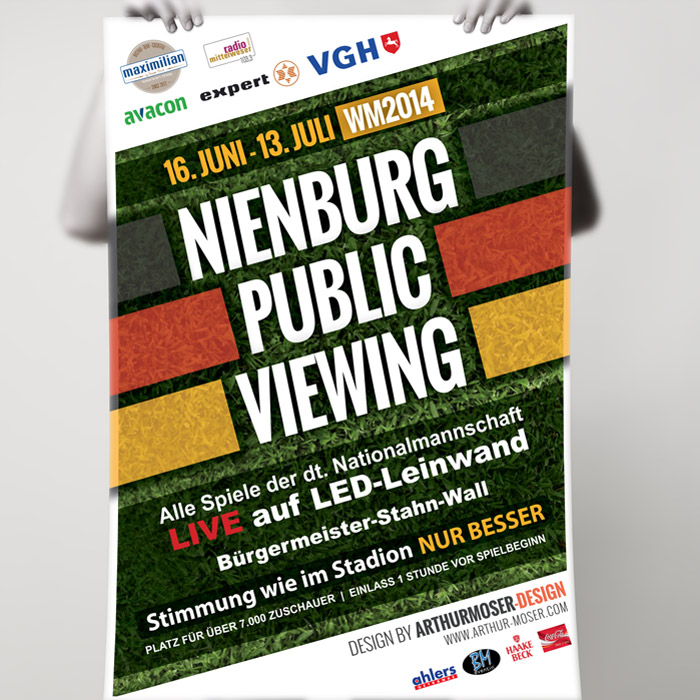 Nienburg Public Viewing (Plakat)